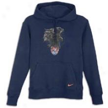 Nike Us Soccer Core Oth Hoodie - Mens - Obsidian/firepit