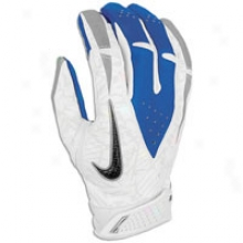 Nike Vapor Carbon Sg Receivers Glove - Mens - White/metallic Silver/royal/carbon