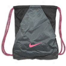 Nike Varsity Lass 2.0 Gym Sack - Black/anthracite/pink Flash