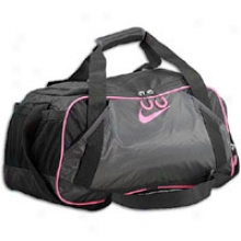 Nike Varsity Girl 2.0 Medium Duffle - Black/anthracite/pink Flash