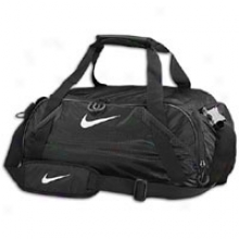 Nike Varsity Girl Medium Duffle - Black/black/white