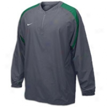 Nike Wheelhouse L/s Jacket - Mens - Flint Grey/dark Green/white