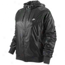 Nike Windrunner Jacket - Womens - Black/white