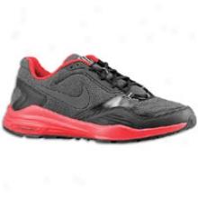 Nike Winter Lunar Edge 12 - Mens - Black/s;ort Red