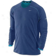 Nike Wool Crew - Mens - Binary Blue/neon Turquoise/reflective Silver