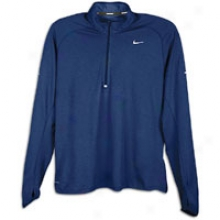 Nike Wool Half Zip - Mens - Binary Blue/imperial Blue/reflective Silver