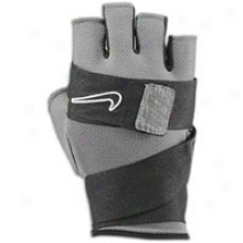 Nike Wrap Up Elite Lifting Glove - Mens - Grey/black/white