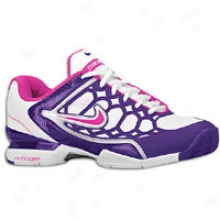Nike Zoom Breathe 2k11 - Womens - White/imperial Purple/metallic Silver/vivid Grape