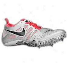 Nike Zoom Celar 4 - Womens - Metallic Silver/solar Red/black