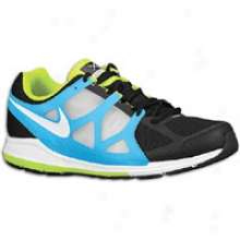Nike Zoom Elite + - Mens - Black/white/blue Glow/volt