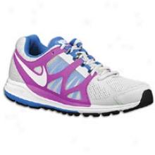Nike Zoom Elite + - Womens - Pure Platinum/magenta/soa/white