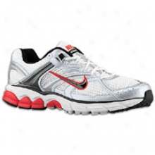 Nike Zoom Equalon +4 - Mens - White/blaack/silver/grey