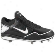 Nike Zoom Grit Metal - Mens - Black/white/metallic Silver