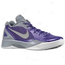 Nike Zoom Hyperdunk 2011 Low Pe - Mens - Club Purple/cool Grey/metallic Silver