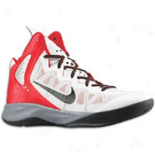 Nike Zoom Hyperenforcer - Mens - White/sport Red/cool Grey/black