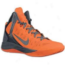Nike Zoom Hyperenforcer Pe - Mens - Total Orange/cool Grey/metallic Silver