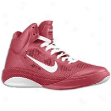 Nike Zoom Hyperfuse - Womens - Maroon /white/maroon