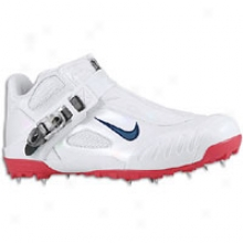 Nike Zoom Javelin Elite - Mens - White/obsidian/red
