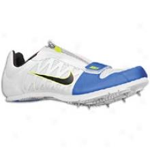 Nike Zoom Lj 4 - Mens - White/treasure Blue/volt/blqck