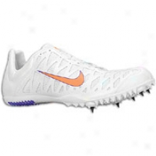 Nike Zoom Maxcat 3 - Mens - White/varsity Purple/tottal Orange