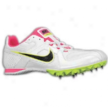 Nike Zoom Rival Md 6 - Womens - White/volt/black/pink Flash