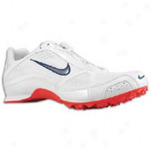 Nike Zoom Rival Md Iv - Mens - White/obsidian/red