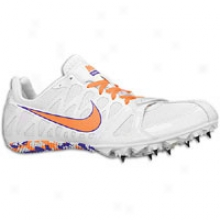 Nike Zoom Rival S 6 - Mens - White/total Orange/varsiity Purple