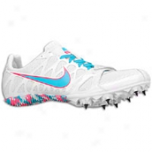 Nike Zoom Rival S 6 - Womens - White/bright Turquoise/pink Flash