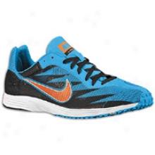 Nike Zoom Streak Xc 3 - Mens - Black/blue Glow/total Orange