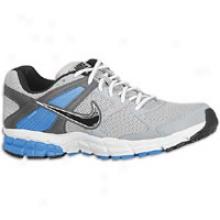 Nike Zoom Structure Triax+ 14 - Mens - Wolf Grey/black/dark Grey/photo Blue/white