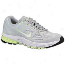 Nike Zoom Structure Triax + 15 Breathe - Womens - Pure Platinum/wolf Grey/liquid Limme