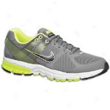 Nike Zoom Structure Triax + 15 - Mens - Dark Grey/volt/black