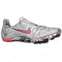 Nike Zoom Superfly R3 - Mens - Metallic Silver/metallic Platinum/solar Red