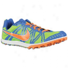 Nike Zoom Waffle Racer 8 - Mens - Electric Green/treasure Blue/total Orange