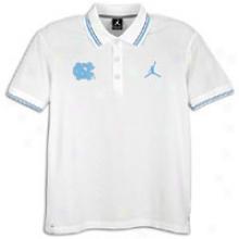 North Carolina Jordan Skyline Polo - Mens - White