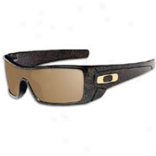 Oakley Batwolf Sunglass - Mens - Polished Black/gold Ghost/tungsten Iridium
