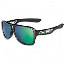 Oakley Dispatch Ii Sunglass - Mens - Refined Black/jade Iridium