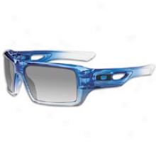 Oakley Eyepatch 2 Sunglass - Mens - Blue/clear Fade/black Grey Gradient