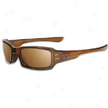 Oakley Fives Squared Sunglass - Mens - Rootbeer/dark Bronze
