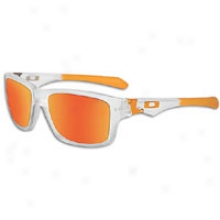 Oakley Jupiter Squared Sunglass - Mens - Matte Clear/fire Iridium