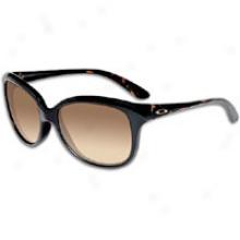 Oakley Pampered Sunglass - Womens - Black Tortoise/dark Brown Gradient