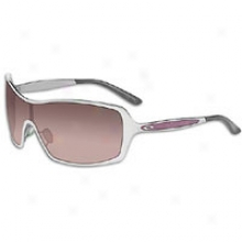 Oakley Remedy Sunglass - Womens - Polished Chrome/black Gradient