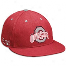 Ohio State Nike Collegd Elite 643 Swooshflex Hat - Mens - Red