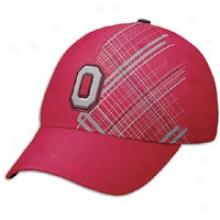 Ohio State Nike Legacy Swooshflex Cap - Mens - Red