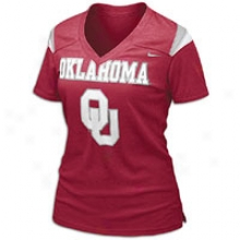 Oklahoma Nike College Replica T-shirt - Womens - Varsity Crimson