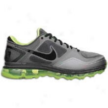 Oregon Nike Rivalry Air Max Trainer 1.3 - Mens - Stealth/black/cool Grey/volt