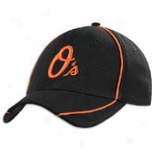 Orioles New Era Batting Practice Cap - Mens - Black/orange