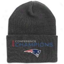 Patriots Reebok Nfl Conference Champions Knit - Mens - Blac