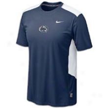 Penn State Nike College Dri-fit Speed Fly T-shirt - Mens - Navy
