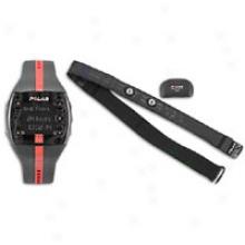 Polar Ft7 Fitness Monitor - Black/red